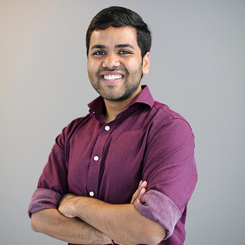 Portrait of Kramay Patel