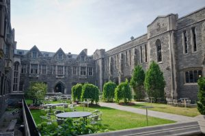 Photo of Hart House courtyard